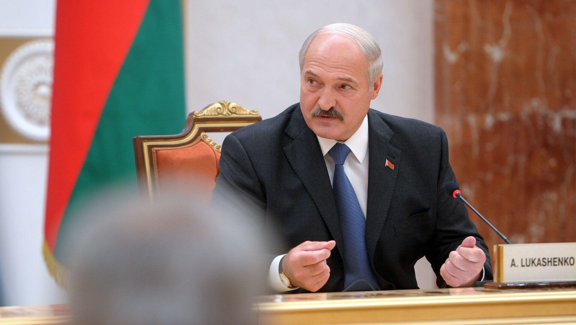 Prezydent Białorusi Alaksandr Łukaszenka - Sputnik Polska, 1920, 11.03.2021