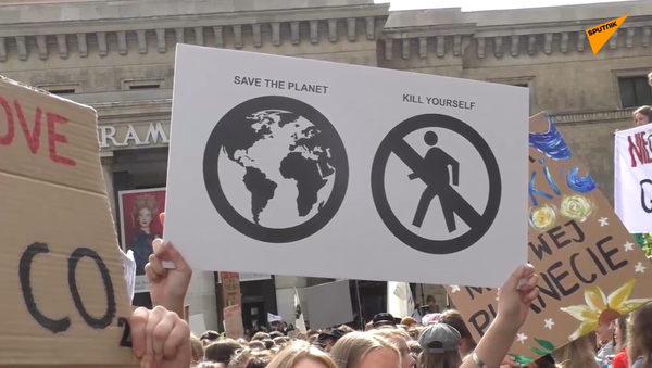 Marsz klimatyczny  - Sputnik Polska