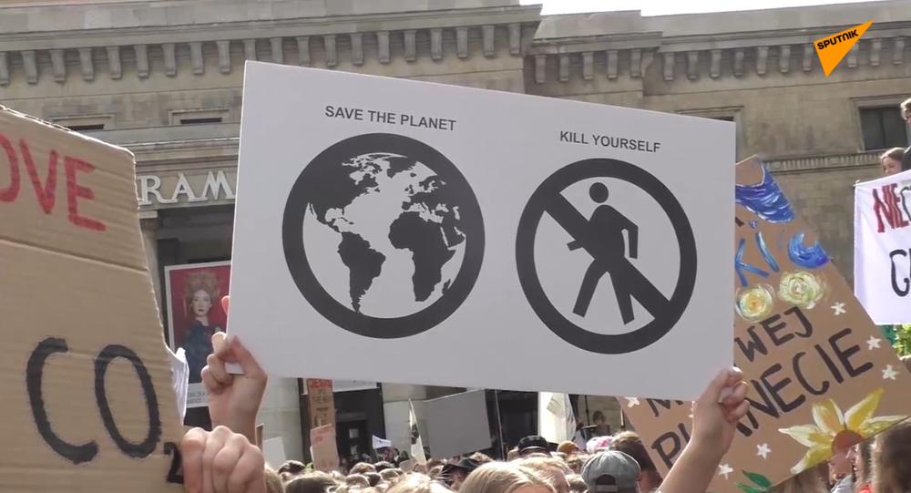 Marsz klimatyczny.