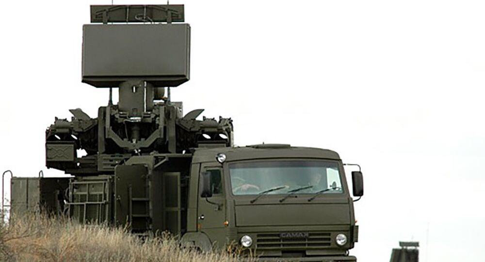 Radar S-500 na podwoziu KamAZ