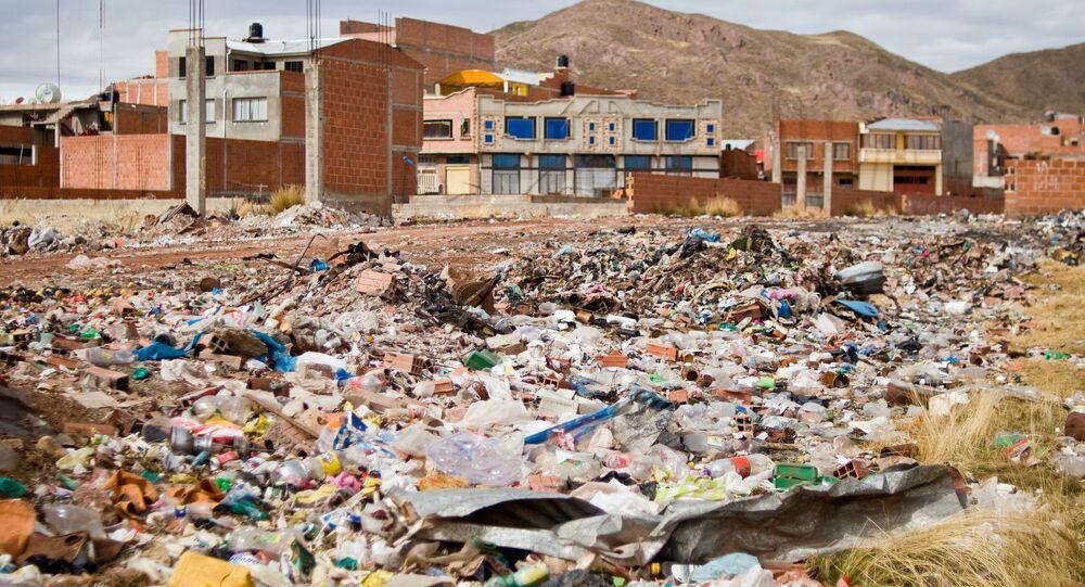 Śmietnisko na obrzeżach miasta, Boliwia