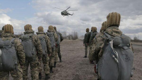 Ukraińscy wojskowi - Sputnik Polska