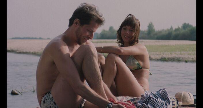 "Kadr z filmu ""Barwy ochronne"" (1976)"
