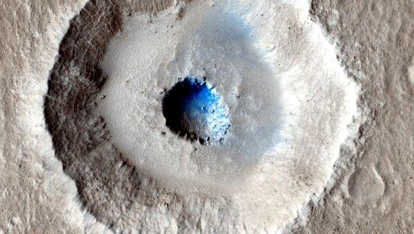 Oblodzona powierzchnia Marsa - Sputnik Polska