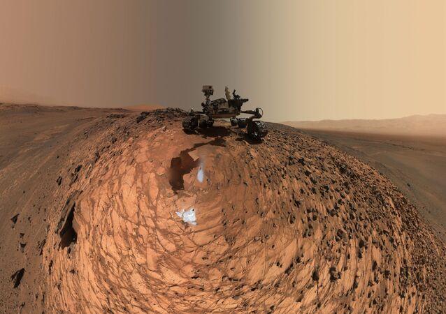 Mars rower NASA Curiosity