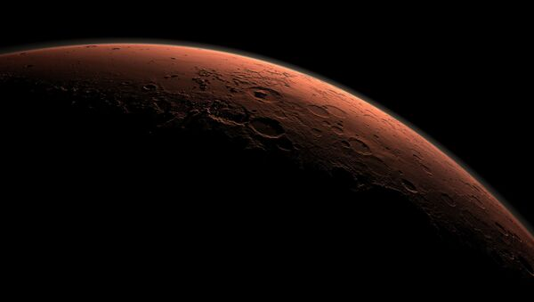 Planeta Mars o wschodzie słońca - Sputnik Polska