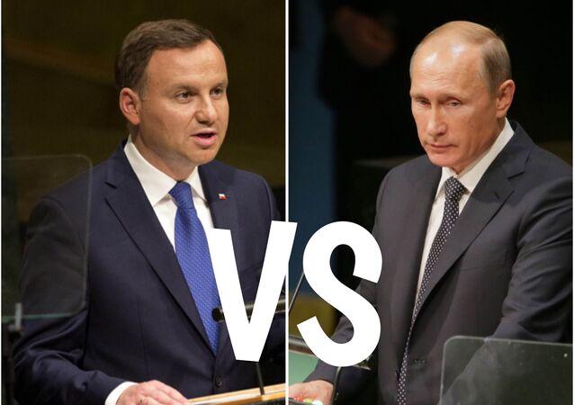 Duda vs Putin