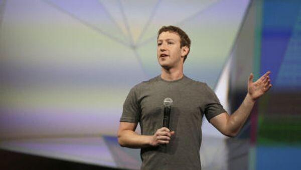 Dyrektor generalny Facebooka Mark Zuckerberg - Sputnik Polska