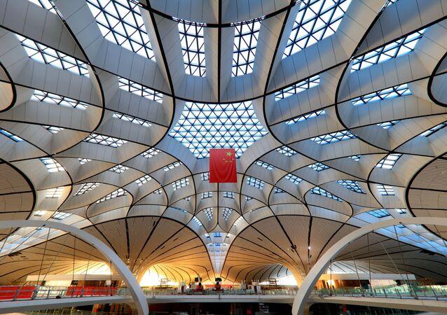 Chińskie  lotnisko Daxing