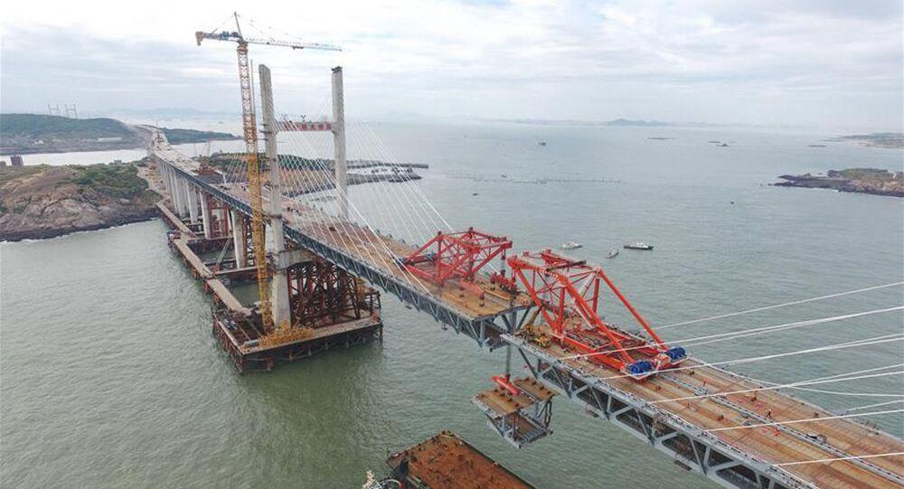 Najdłuższy most morski na świecie, Chiny