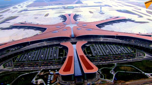 Lotnisko Daxing - Sputnik Polska