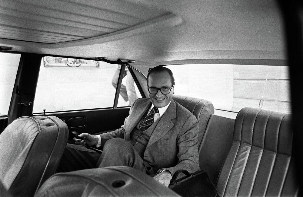 Premier Francji Jacques Chirac, 1976 rok