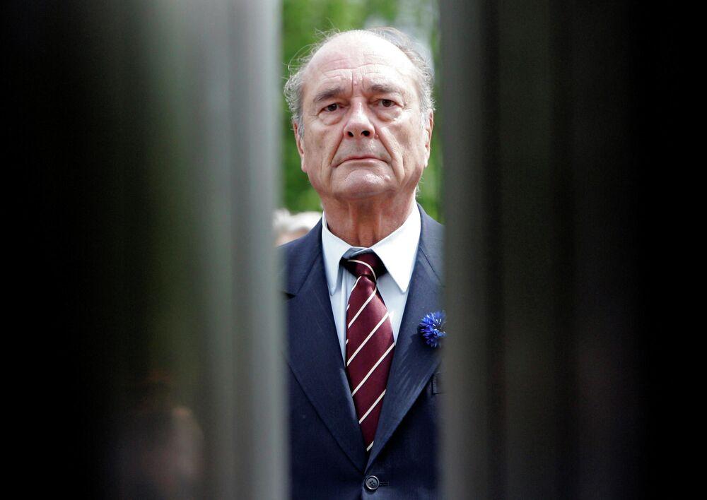 Prezydent Francji Jacques Chirac, 2007 rok