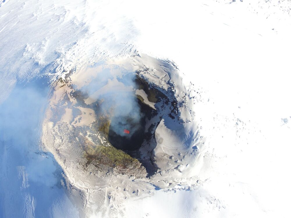 Wulkan Villarrica w Chile
