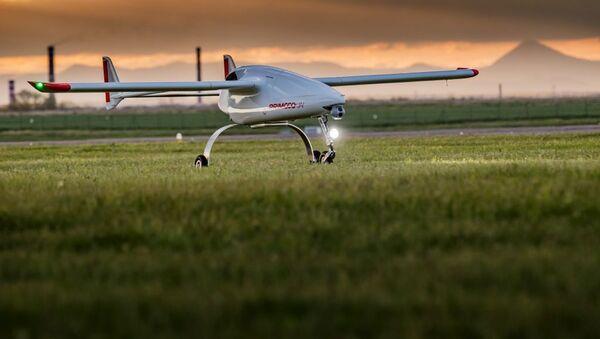 Bezzałogowy statek powietrzny czeskiej firmy Primoco UAV - Sputnik Polska