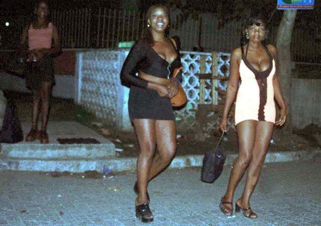 Prostytutki z Nigerii