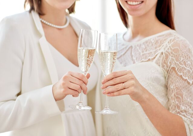 Kobiety z szampanem