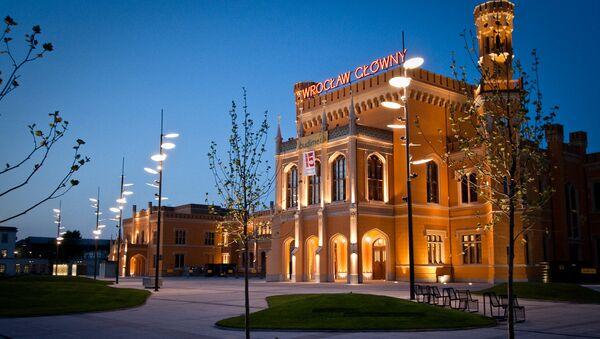 Dworzec Wrocław Główny - Sputnik Polska
