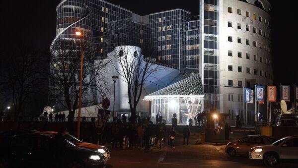 Budynek Telewizji Polskiej w Warszawie - Sputnik Polska