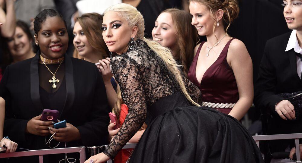 Amerykańska piosenkarka Lady Gaga