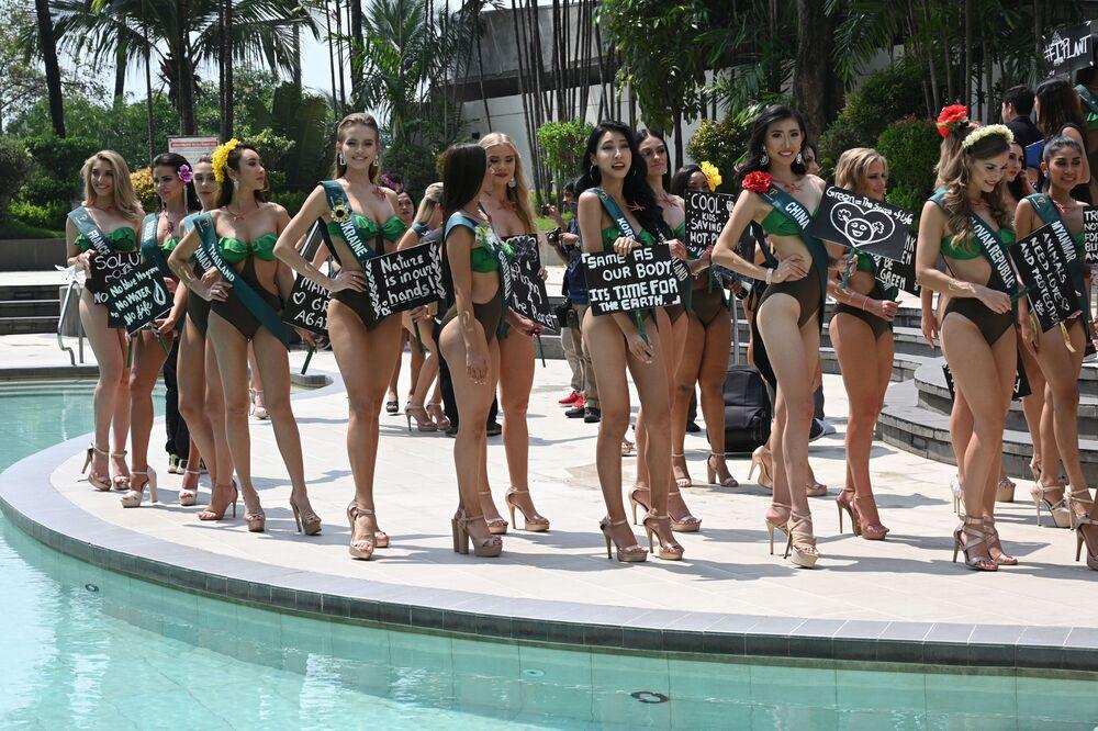 Kandydatki ubiegające się o tytuł Miss Earth 2019