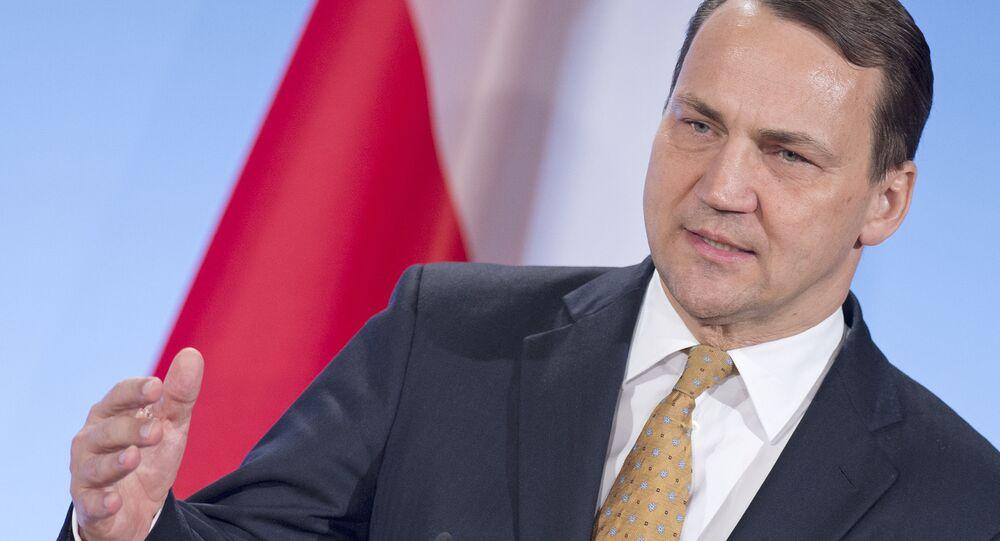Były minister spraw zagranicznych Polski Radosław Sikorski
