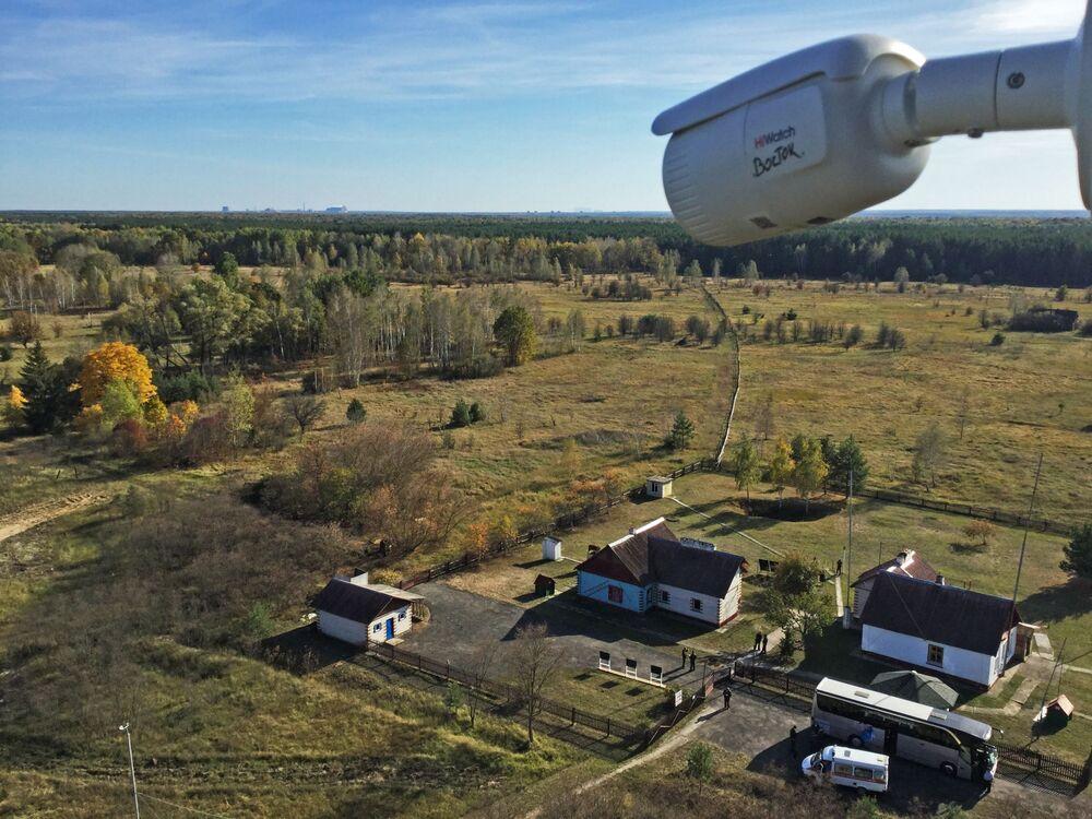 Stacja badawcza Masany na terytorium Poleskiego Rezerwatu