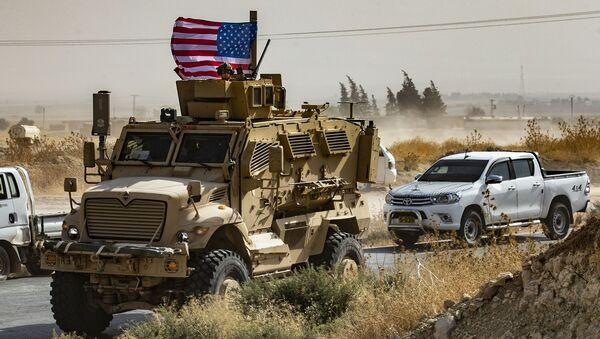 Żołnierze USA w Syrii - Sputnik Polska