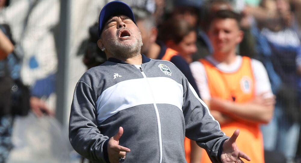 Trener Maradona Agrentyna