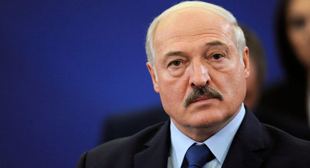 Prezydent Białorusi Alaksandr Łukaszenka Erewan