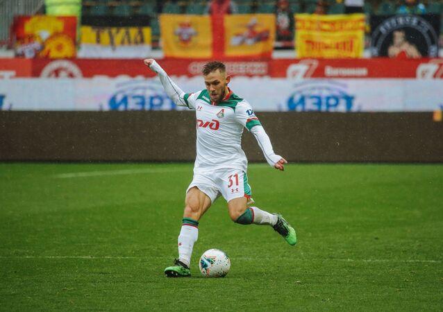 Polski piłkarz Maciej Rybus, występujący na pozycji pomocnika lub obrońcy w rosyjskim klubie Lokomotiw Moskwa oraz w reprezentacji Polski