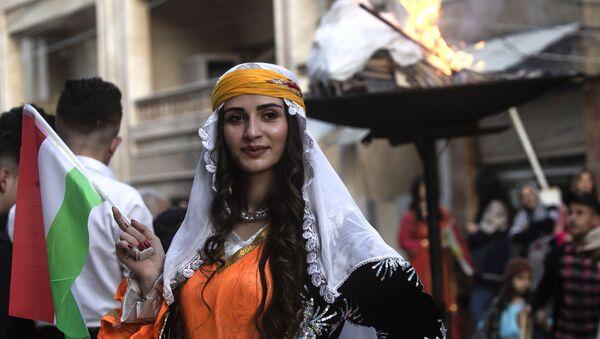 Syryjscy Kurdowie świętują Nouruz - Sputnik Polska