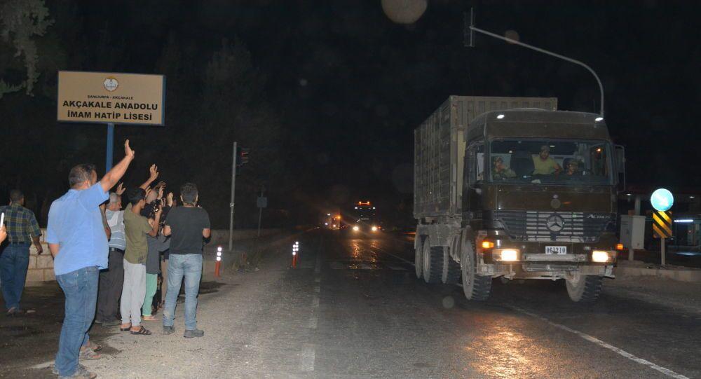 Tureckie oddziały w Syrii