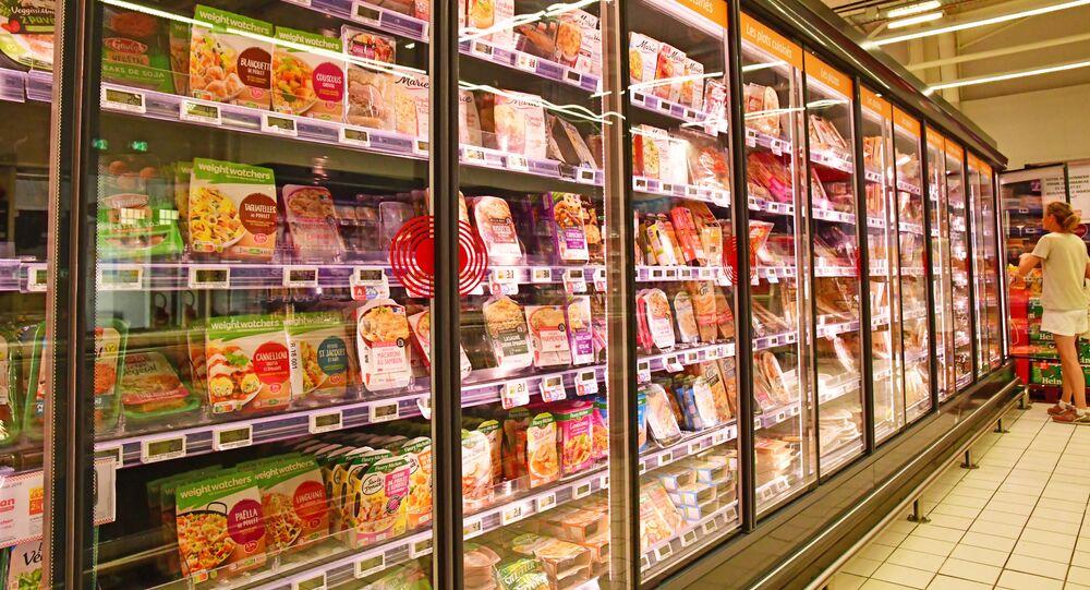 Gotowe jedzenie w supermarkecie