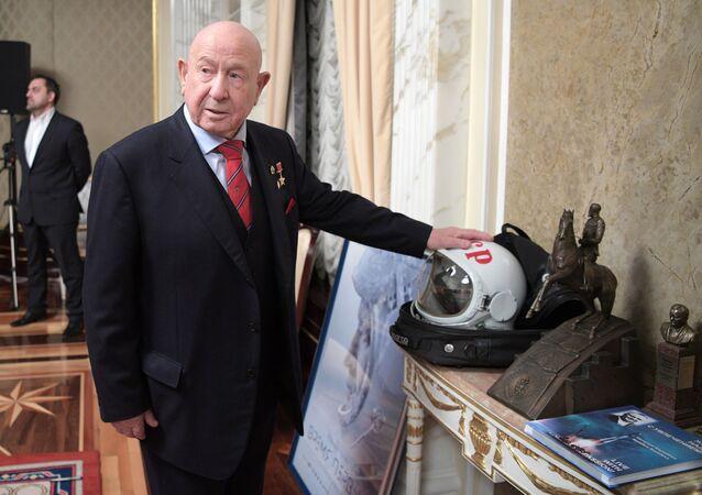 Kosmonauta Aleksiej Leonow, który jako pierwszy wyszedł w otwarty kosmos // Sputnik / Aleksiej Drużynin