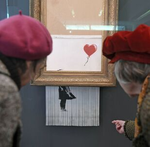 Wystawa Banksy w Niemczech