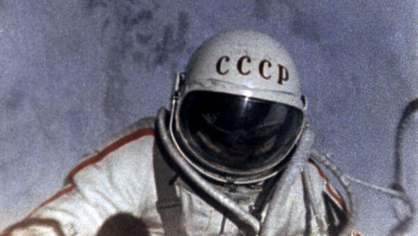 Radziecki kosmonauta Alieksiej Leonow - Sputnik Polska