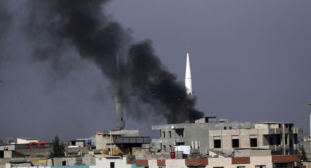 Turecka operacja na północy Syrii