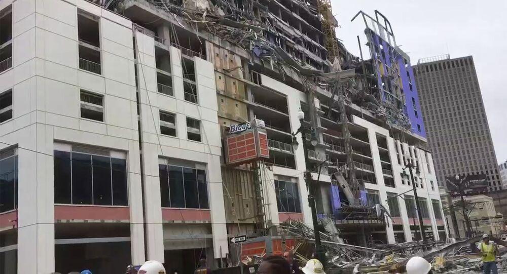 Zawalenie Hard Rock Hotel w Nowym Orleanie