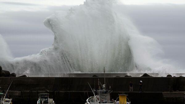 Tajfun Hagibis w Japonii - Sputnik Polska