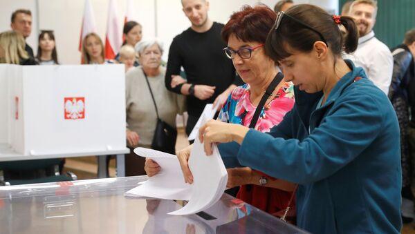 Wybory parlamentarne 2019 - Sputnik Polska
