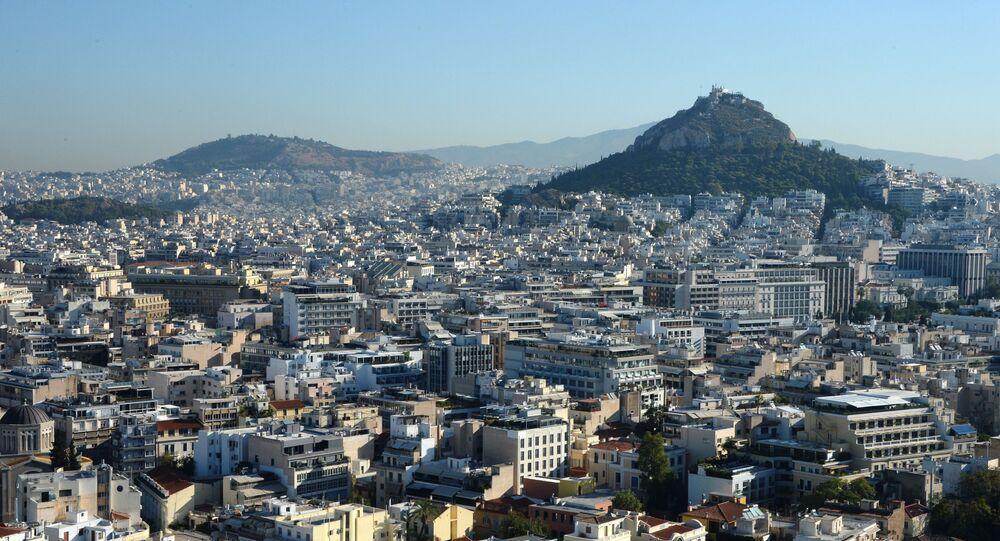 Widok na Ateny z Akropolu