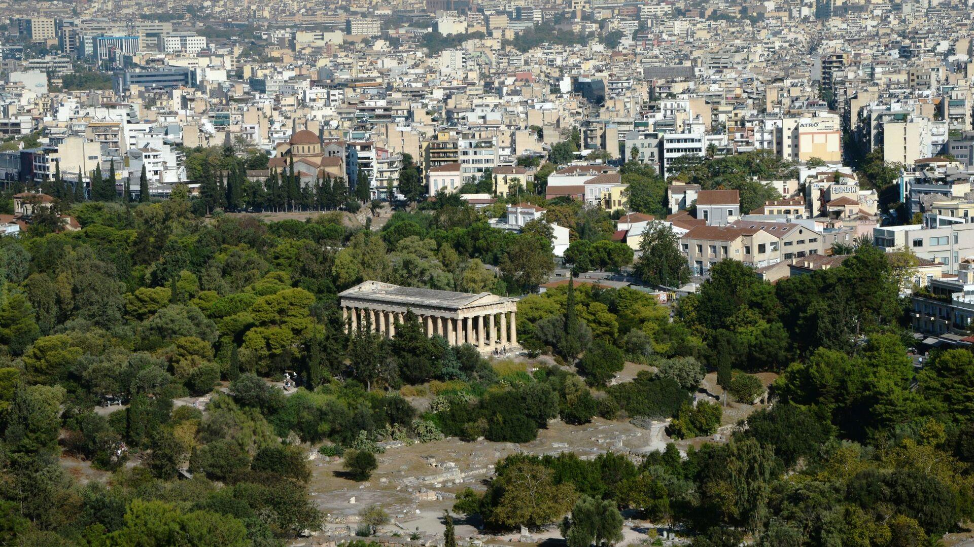 Widok na Ateny z Akropolu  - Sputnik Polska, 1920, 01.08.2021