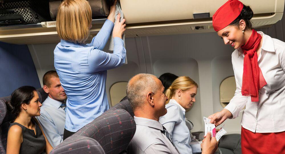 Stewardesa samolot napiwki