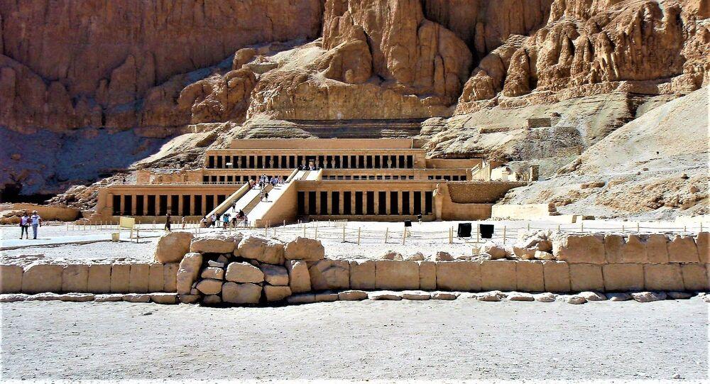 Świątynia Hatszepsut w Luksorze, Egipt