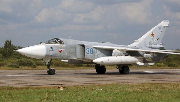 SU-24 combat airplane - Sputnik Polska