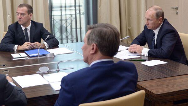 Narada członków rządu z udziałem Władimira Putina ws. Syrii - Sputnik Polska