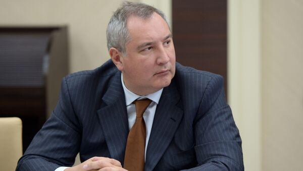 Wicepremier FR Dmitrij Rogozin - Sputnik Polska