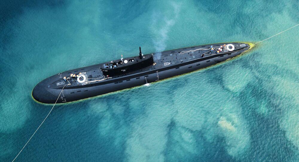 """Okręt podwodny z napędem diesel-elektrycznym """"Kolpino"""""""