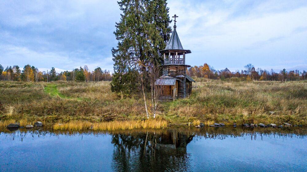 Kaplica Kosmy i Damiana w Karelii